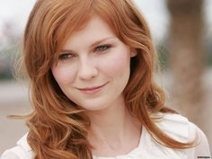 They Look Better with Red Hair list: Kirsten Dunst Red Hair Kirsten Dunst, Ginger Models, Interview With The Vampire, Celebrity Magazines, Different Hair Colors, Pretty Hairstyles, Red Hairstyles, Beautiful Actresses, Pink Hair