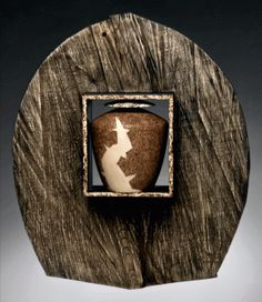 Simon Levy - Contemporary Original Wood Art - Woodturning - Fine Craft - Pyrography - Tennessee Artist | Hideaway, 2007