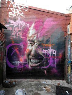 StreetArt101 : Best Street Art From Adnate in Melbourne, Australia