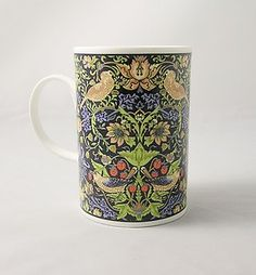 "Dunoon England By William Morris Mug ""STRAWBERRY THIEF"""
