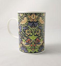 "Dunoon England By William Morris Mug ""STRAWBERRY THIEF"""
