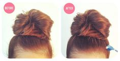 Zähme fliegendes Haarsträhnchen mit ein wenig Haarspray und einer alten Zahnbürste.   41 Schönheits-Tipps, die perfekt sind für faule Frauen