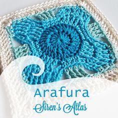 Arafura new pattern by Shelley Husband