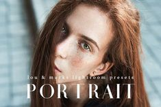60 Portrait Lightroom Presets by LOU&MARKS on @creativemarket Best professional lightroom presets packs for more modern and trendy style in your photography. Perfect for portrait, wedding, landscape, urban, travel, creative, blogging.