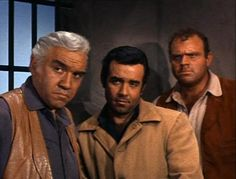 The Cartwright men framed for murder and robbing a bank. Little Joe escapes and later comes to the rescue. (Bonanza)