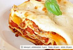 Hungarian Recipes, Italian Recipes, Hungarian Food, Meat Recipes, Pasta Recipes, Gnocchi, Kids Meals, Nom Nom, Bacon