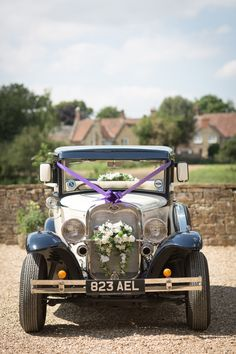 Fern and Dominic's woodland bird and country flower inspired wedding at their idyllic Somerset village – The Natural Wedding Company - Wedding Ideen Tipi Wedding, Wedding Car, Woodland Wedding, Wedding Sets, Dream Wedding, Somerset Village, Bridal Car, Wedding Company, Simple Weddings