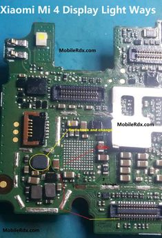 Laptop Notebook Motherboard Circuit Diagram  | Computer