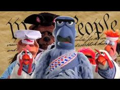 Ha ha ha, love this song anyway. Like it more now:)      The Muppets: Stars & Stripes FOREVER!