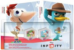 Disney INFINITY Phineas & Ferb Toy Box Pack: Video Games: Amazon.com: