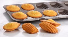 Try this quick and easy madeleines recipe from Bake With Anna Olson.