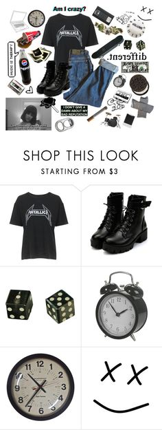 """""""Hope ranaway from my fingertips, so trouble became my best friend instead"""" by emotionaltown ❤ liked on Polyvore featuring Topshop, ...Lost, Mapex, WALL, Zimmermann, Polaroid and vintage"""