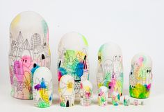 RUSSIAN NESTING DOLLS | Mike Perry Studio
