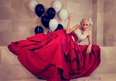 """""""A Diva's Day"""" - Tatiana Marinescu, photographed by Lightaholic in our wonderful Cișmigiu Suite #red"""