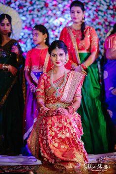 South Indian,Telugu bride