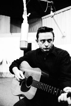 Johnny Cash photographed by Don Hunstein, October 1959.