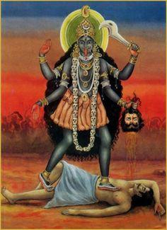 Mother Kali, Divine Mother, Kali Hindu, Hindu Art, Kali Goddess, Mother Goddess, Kali Mantra, Lord Murugan, Lord Shiva Painting
