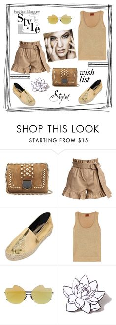 """""""Wish list"""" by zabead ❤ liked on Polyvore featuring Jimmy Choo, Cinq à Sept, Kenzo, Missoni, Courrèges and PINTRILL"""