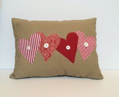 Pillows for Valentine's Day  0 comments   If you don't have any idea what to give as a present for your loved ones here is another great ideas for you. Pillows can be very adorable present and it is more fun because you can do them by yourself. Pillows for Valentine's Day have to be made with love. Also you have to make love decorations on them, hearts or beautiful Valentine's Day quotes. Valentine's Day pillows can be made out of different