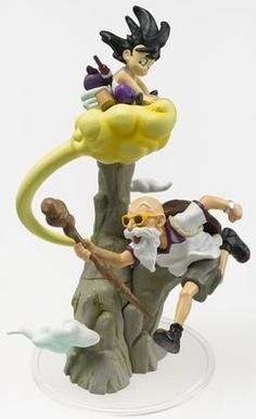 Dragon Ball Dragonball Z Part 8 Gashapon Figure Imagination Son Goku & Master