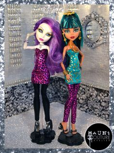 Monster Doll 2015 Couture Closet: Black and от HauntCoutureAtelier