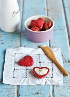 red velvet heart cookie recipe