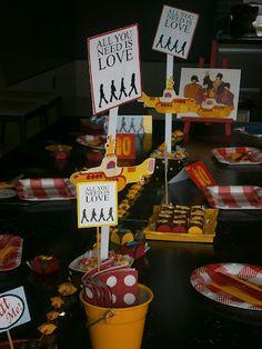 Projetos Inventivos: Festa Beatles