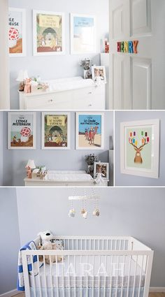 A Tin-Tin inspired nursery