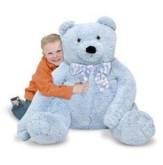 029b63c23915a Melissa   Doug Jumbo Blue Teddy Bear - Plush