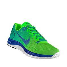 Diseñé esto en NIKEiD - Nike Lunarglide 5 personalizadas por mi :) Me encantan!