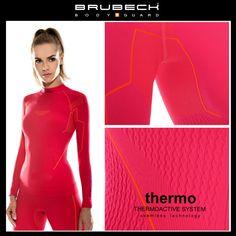 BRUBECK THERMO női aláöltöző felső, fekete, L