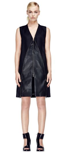 VSP and Hussein Chalayan launch a capsule collection for the Spring/Summer 2015 Hussein Chalayan, Leather Label, New Paris, Shearling Coat, Latex Fashion, Sophisticated Style, Spring Summer 2015, Dresses For Work, Celebrities