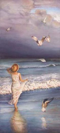 Susan Rios ~ The Wind's Song ~ seaside inspiration