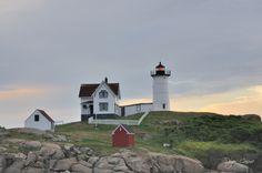 """Cape Neddick Light"" by Robert Reyes Cosme, via 500px."