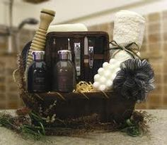 MEN SPA GIFT BASKET