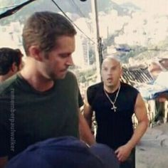 Paul on set of FF5