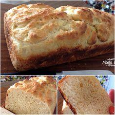 Pão de manteiga, sem sova, sem esticar, sem bater, Pão de colher, super fácil de fazer e delicioso! http://www.montaencanta.com.br/pao/pao-de-manteiga/