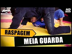Jiu-Jitsu - Raspagem de Meia Guarda - Felipe Cesar - BJJCLUB - YouTube