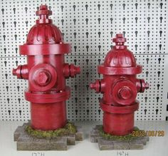 """Dog's Second Best Friend Fire Hydrant Statue 14"""" /17"""" (Set of 2) . $68.95. Wonderful Gift for a Fire Fighter. Great for Your Dog. Made of Poly-Resin. Perfect for Indoor or Outdoor, mount it on floor with cement for extra stability. Measures 14"""" Tall x 6"""" Wide / 17"""" Tall x 9"""" Wide. Fire Hydrant Yard Statue, put it to where you want to put , then mount it on floor with cement for extra stability or bury it in a plant bed.. Save 37% Off!"""