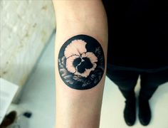 Love circles on the forearm