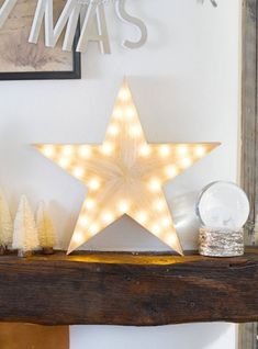 Wooden LED light up star. Co-ordinates with our Nordic themed tableware. Vase With Lights, Led String Lights, Star Decorations, Christmas Decorations, Star Lamp, Light Up Letters, Florist Supplies, Keep The Lights On, Wooden Stars