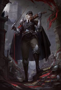 Find images and videos about art, anime and manga on We Heart It - the app to get lost in what you love. Fantasy Character Design, Character Design Inspiration, Character Concept, Character Art, Concept Art, Dnd Characters, Fantasy Characters, Fantasy Races, Dark Fantasy Art