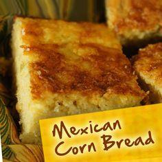 Hispanic Recipes for Diabetes: Mexican Corn Bread