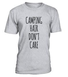 Camping Hair Fashion #camping #travel