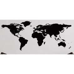 World map printable art black and white marble print large this world map decal adds a beautiful touch to a bedroom or living room the decal includes a bunch of star markers that allow you to personalize the decal gumiabroncs Choice Image