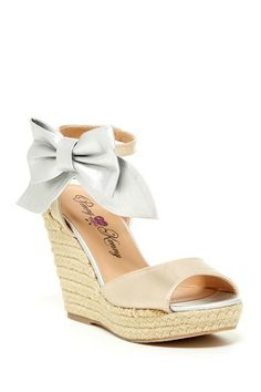 Penny Loves Kenny June Wedge Sandal by Non Specific