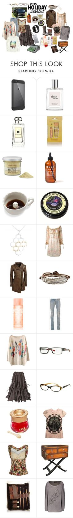 """""""My Dreaming Big Wish List"""" by foreevers ❤ liked on Polyvore featuring LifeProof, philosophy, Aquolina, Jo Malone, Burt's Bees, Williams-Sonoma, Imm Living, Alexander McQueen, Dr. Martens and Danier"""