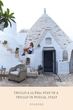 Trullo a ll'éra: Stay In A Trullo In Puglia, Italy • SVADORE An authentic induction into true Apulian culture in the Itria Valley includes a warm welcome from an entire Southern Italian family, a walk through Apulian fields, exquisite food from local recommended restaurants, and a stay in a Trullo in Puglia, Italy. Once you've made it through these indispensable initiation rituals at Trullo a ll'éra, you'll leave feeling like you're a part of the Apulian family. World Travel Guide, Travel Guides, Travel Pictures, Cool Pictures, Travel Around The World, Around The Worlds, Puglia Italy, Group Travel, Luxury Travel