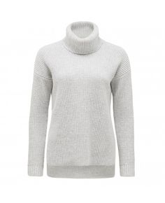 This luxurious grey cotton-blend roll neck knit tunic is your ultimate off-duty layering essential. Team with skinny jeans and ankle boots for a stylish cool weather outfit. Forever New, Roll Neck, Off Duty, Knitwear, Turtle Neck, Tunic, Skinny Jeans, Clothes For Women, Stylish