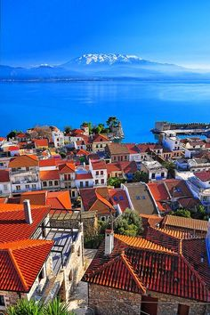 Travel to Greece with Travelive. Explore Greece like never before with the best Travel Agency. Luxury tailor-made Travel Packages! Vacation Destinations, Dream Vacations, Vacation Spots, Vacation Travel, Patras, Places To Travel, Places To See, Places Around The World, Around The Worlds